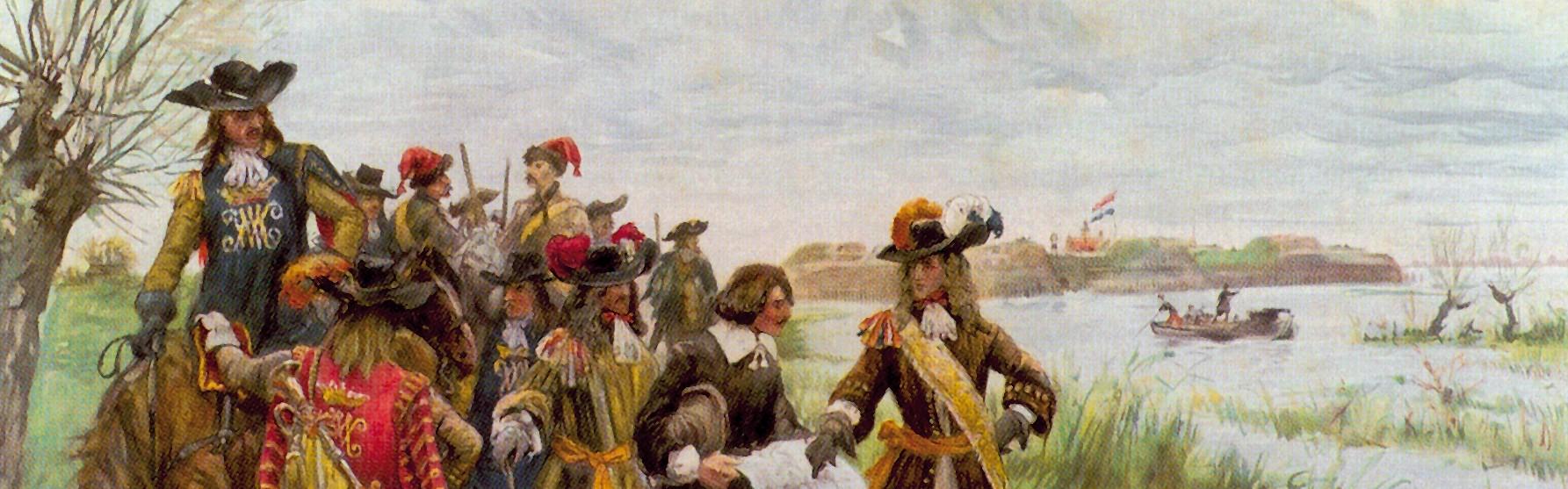 Q -route Woerden 1672