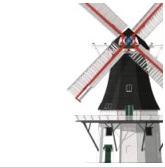 bestaande en verdwenen molens in NL en BE