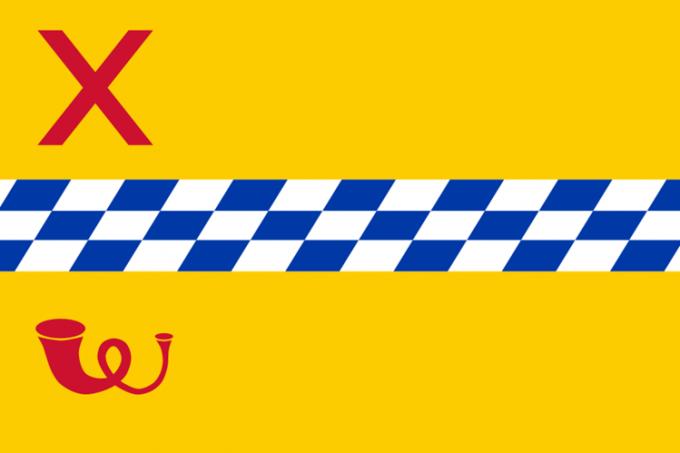 Huidige vlag van Woerden