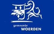 3. Het logo van Woerden  als vlag